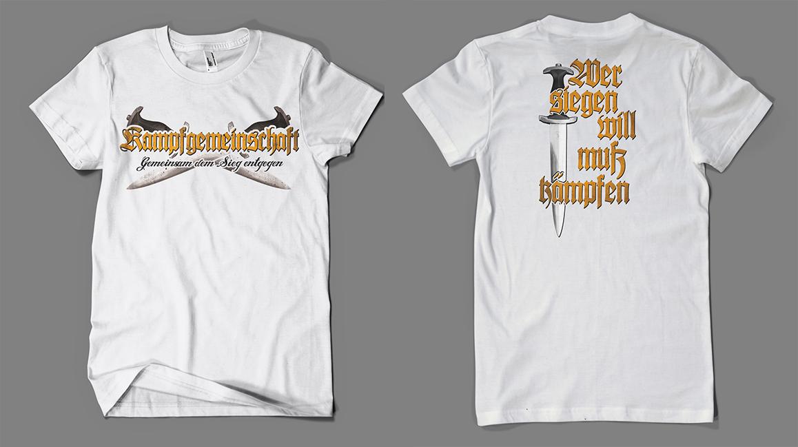 9bfb5036e638ad Versand der Bewegung - T-Shirt Kampfgemeinschaft